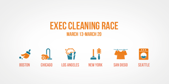 Exec Cleaning Race