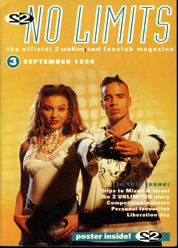 2 Unlimited fanclub magazine