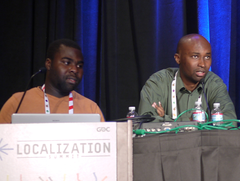Leti Games executives CEO Eyram Tawia and CTO Wesley Kirinya speak about African games and the cultural diaspora at GDC 2013.