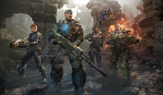 Gears of War: Judgment's Kilo Squad