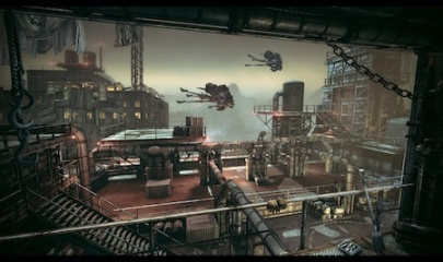Gears of War: Judgment Oil Rig map