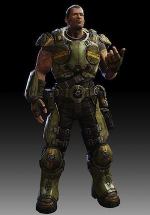 Garron Paduk from Gears of War: Judgment