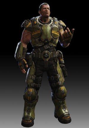 Garron Paduk from Gears of War: Judgment