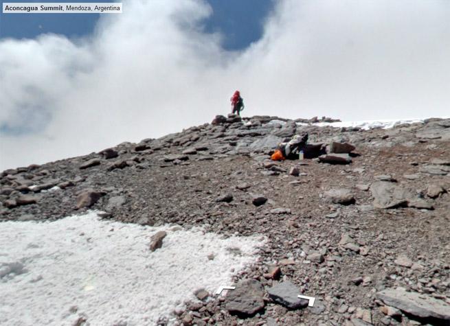 Mountains Google Street View on Google Street View so