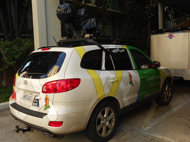 google street view van
