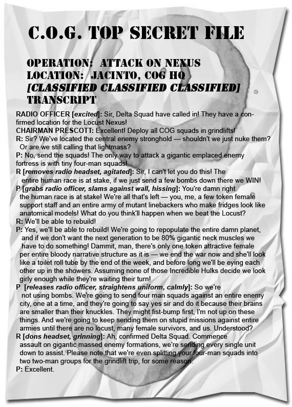 COG HQ Tactics Transcript