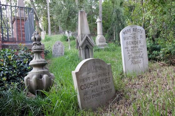 Graveyard photo from Disneyland