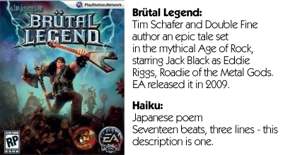 Haiku Review - Brutal Legend