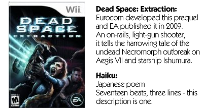 Haiku Review - Dead Space: Extraction (Wii)