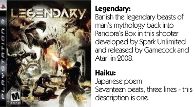 Haiku Review - Legendary