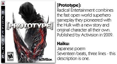 Haiku Review - [Prototype] (PS3)