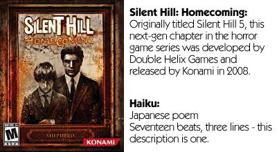 Haiku Review - Silent Hill Homecoming Teaser