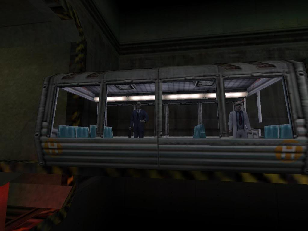Half-Life tram intro