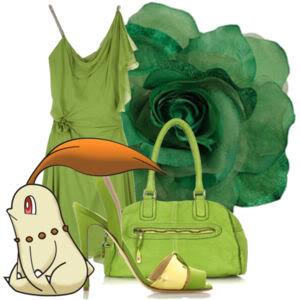 Accessorize with your Chikorita
