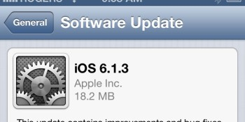 Apple releases iOS 6.1.3: Lock screen bug squashed, Maps improved