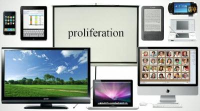 Device proliferation