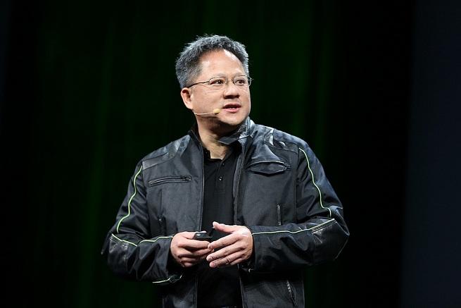 Jen-Hsun Huang, CEO of Nvidia.