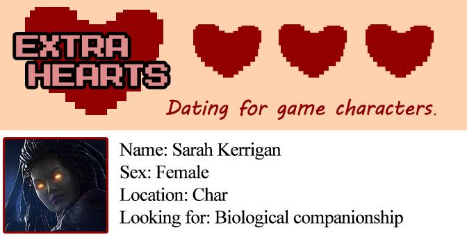 Extra Heats: Kerrigan -- Profile