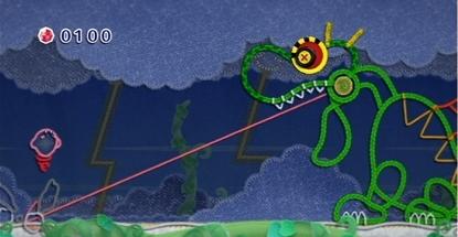 Kirby Epic Yarn Screenshot