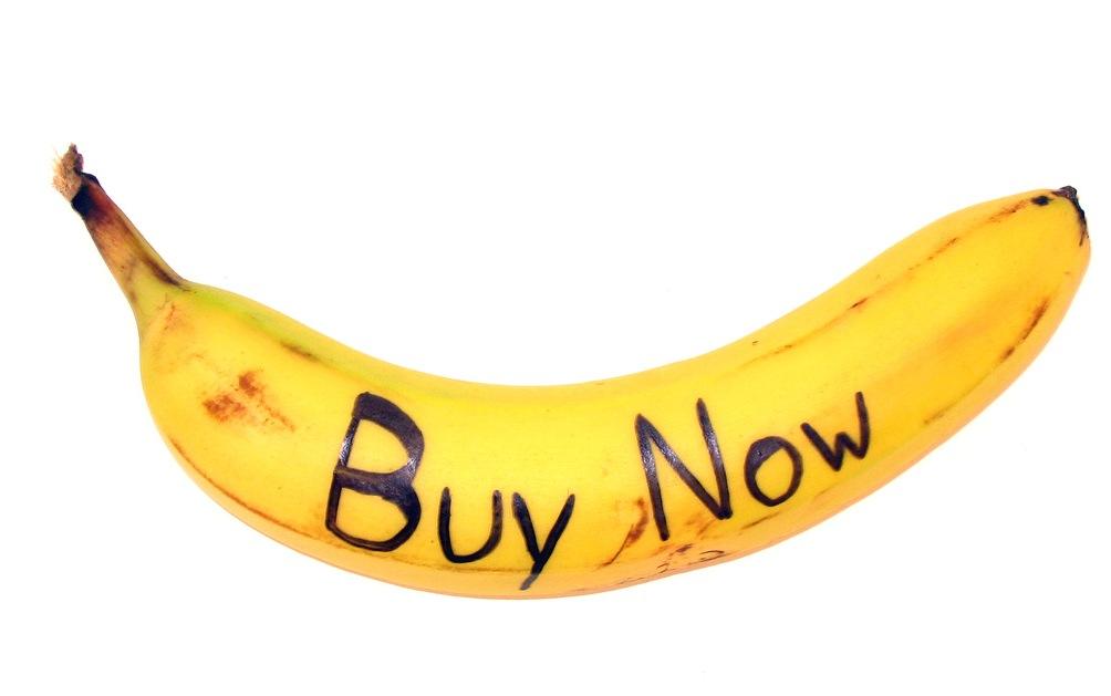 buy now banana