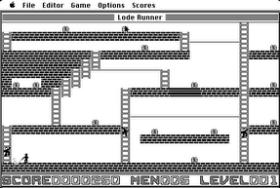 Screenshot from Mac port of Lode Runner