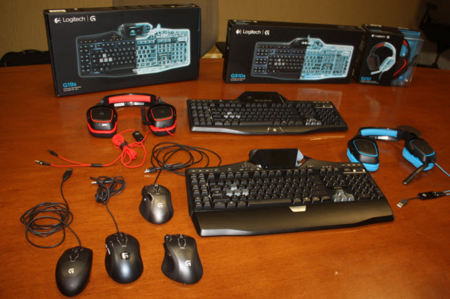 Logitech launches eight new gaming peripherals under G brand