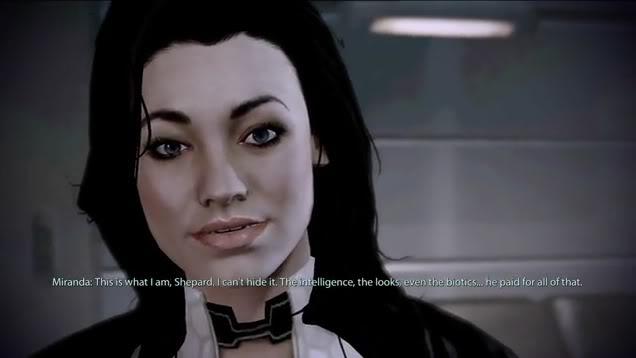 """Mass Effect 2's Miranda Addressing You as """"Shepard"""""""