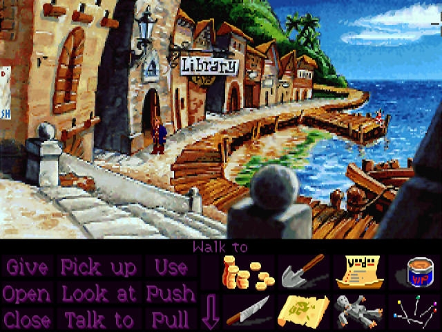Monkey Island 2 screenshot