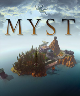 Cover art for Cyan's Myst adventure game