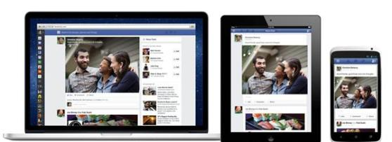 Facebook's News Feed on mobile