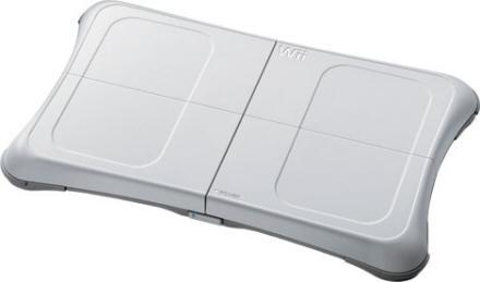 The Wii balance board.