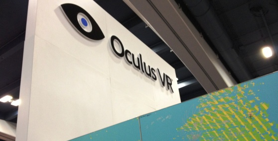 Oculus VR booth at GDC 2013