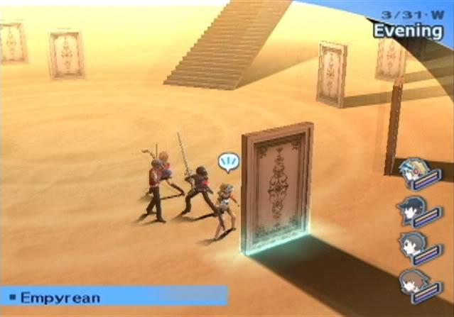 The Desert of Doors in Persona 3: FES.