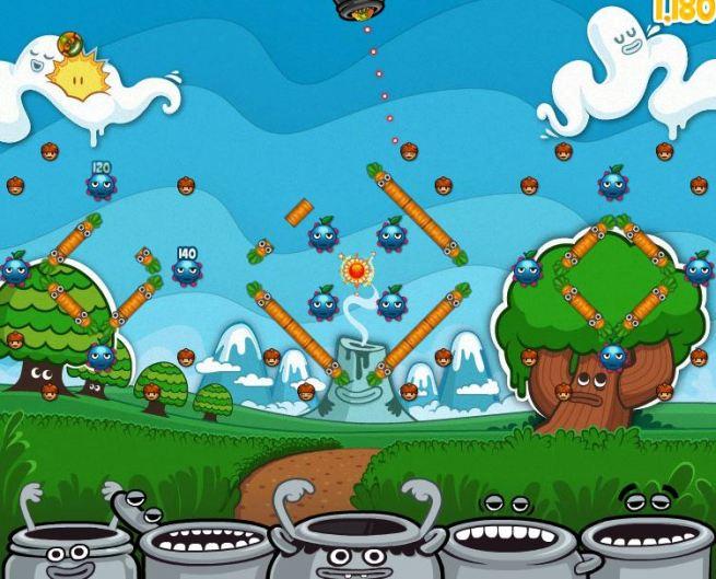 King.com social game pachinko Peggle clone