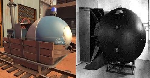 Payload/Fat Man comparison
