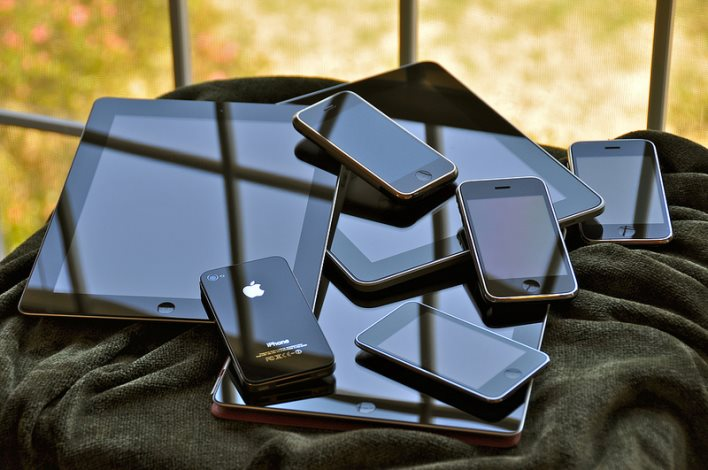 pile of phones - BYOD