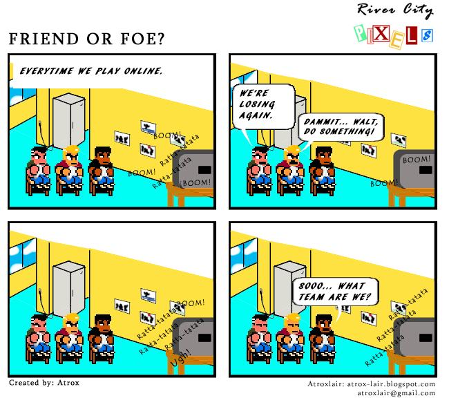 RCP # 1: Friend or foe?