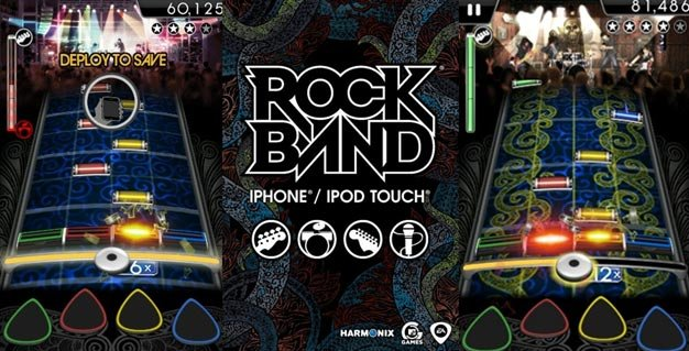 Rock Band iPhone/iPod Touch
