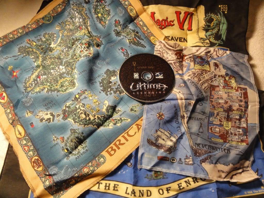 A few cloth maps