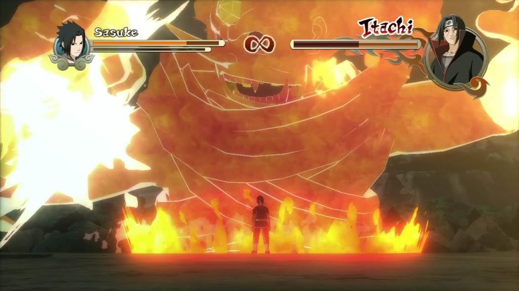 Sasuke versus Itachi