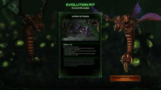 StarCraft II: Heart of the Swarm - abilities, mutations, evolutions, achievements