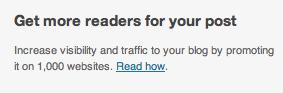 Wordpress native advertising