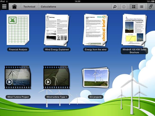 showpad ipad presentation