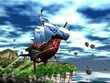 A good ol' wooden airship