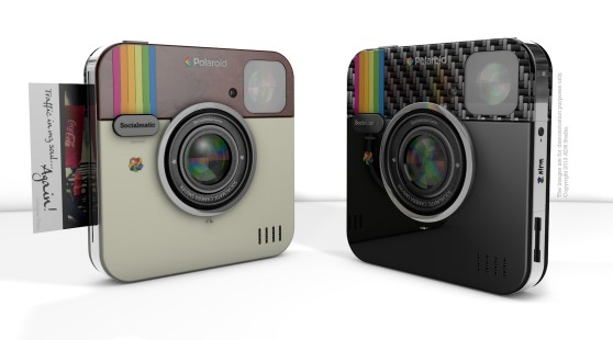 Socialmatic's concept Polaroid camera looks a lot like the Instagram icon