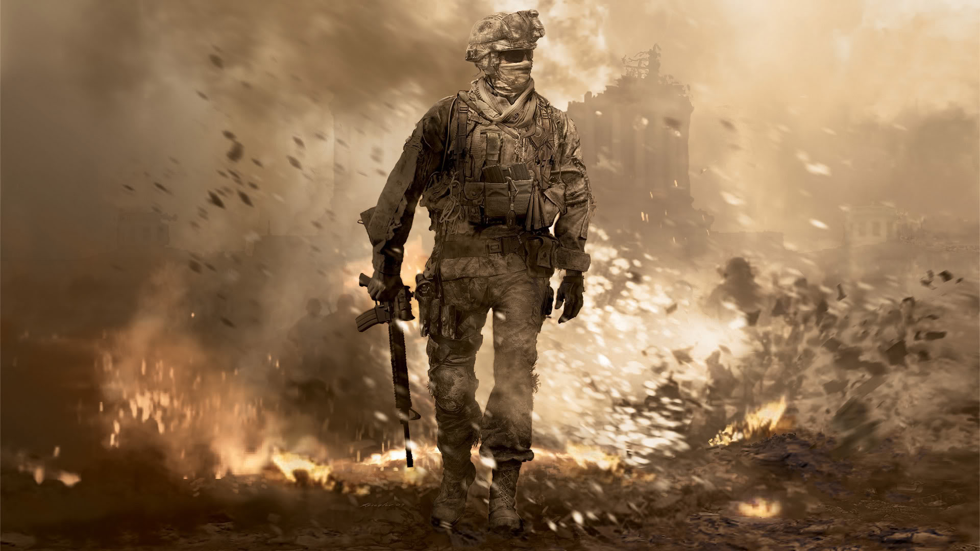 Call Of Duty Modern Warfare 2 Remaster Launches On Ps4 Venturebeat