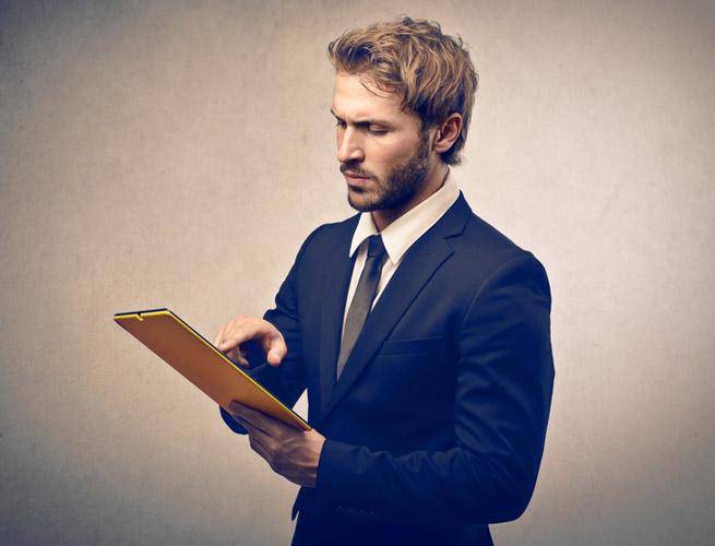 ss businessman tablet