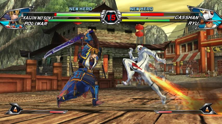 Tatsunoko Vs. Capcom Copyright Capcom USA, Inc. 2010 All Rights Reserved
