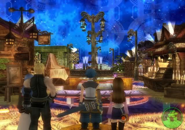 The 4D city of Gemity in Star Ocean 3