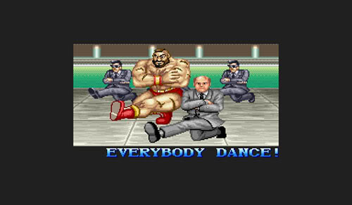 Zangief's ending in Street Fighter 2